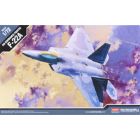 Academy 12423 1/72 F-22A Air Dominance Fighter Raptor Plastic Model Kit