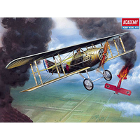 Academy 1/72 Spad XIII WWI Fighter 1623 12446 Plastic Model Kit
