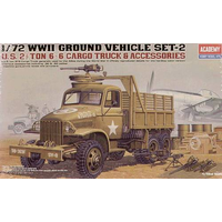 Academy 13402 1/72 US Cargotruck & Accessory Plastic Model Kit