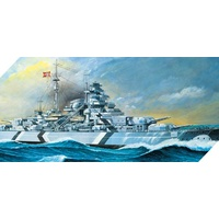 Academy 1/350 German Battleship Bismarck 14109 Plastic Model Kit