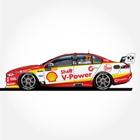 Authentic Collectables 1/18 Shell V-Power Racing Team Scott McLaughlin 2018 Championship Winner