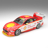 Authentic Collectables 1/64 Shell V-Power Racing Team # 12 Ford Mustang GT Supercar - Driver: Fabian Coulthard ACD64F19B Diecast Car