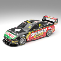 Authentic Collectables 1/64 Supercheap Auto Racing # 55 Ford Mustang GT Supercar - Driver: Chaz Mostert ACD64F19F Diecast Car