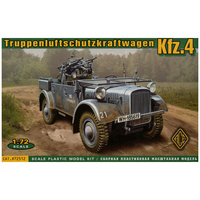Ace 1/72 Kfz.4 light AA support car 72176 Plastic Model Kit