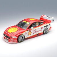 Authentic Collectables 1/12 Ford Mustang GT Supercar Shell V-Power Racing Team 2019 Supercheap Auto Bathurst 1000 Winner Diecast Car
