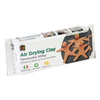 Educational Colours Air Drying Clay Terracotta 500g
