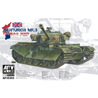 AFV Club AF35303 1/35 Centurion Mk III (Korean War) Plastic Model Kit