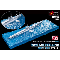 AFV Club HF095 1/350 WWII IJN I-58 & I-19 Wave Base (SE73506 / SE73507)
