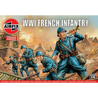 Airfix 1/76 WWI French Infantry