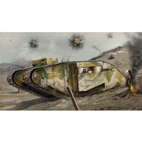 Airfix 1/76 WWI Female Tank