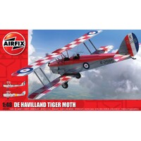 Airfix 1/48 De Havilland Dh82A Tiger Moth