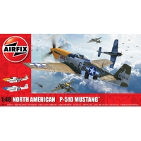 Airfix 1/48 North American P51-D Mustang (Filletless Tails)