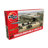 Airfix 1/72 Douglas Dakota Mk.III with Willys Jeep