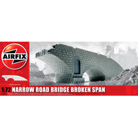 Airfix 1/72 Narrow Road Bridge Broken Spain