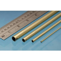 Albion BT6M Brass Tube 6.0 x 305mm 0.45mm Wall (3)