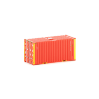 Auscision HO CON-10 20 Hi-Cube Container GE Seaco 2PK