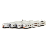 Auscision HO V Set SRA Candy Passenger Train NPS-41