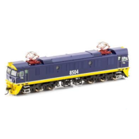 "Auscision 8504 Freight Rail Blue with Small ""E"" on nose 85 Class Locomotive"