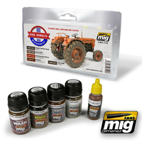 MIG Ammo Civil Vehicles Weathering Set AMIG7145