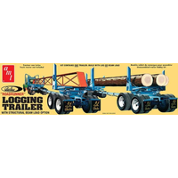 AMT 1/25 Peerless Logging Trailer Plastic Model Kit AMT1103