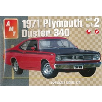 AMT 1/25 1971 Plymouth Duster 340 Plastic Model Kit AMT1118M