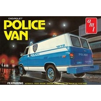 AMT 1/25 Chevy Police Van (NYPD) Plastic Model Kit AMT1123