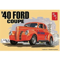 AMT 1141M 1/25 1940 Ford Coupe 2T Plastic Model Kit