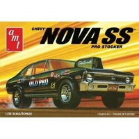 "AMT 1/25 1972 Chevy Nova SS ""Old Pro"" 2T Plastic Model Kit AMT1142M"