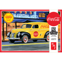 AMT 1161 1/25 1940 Ford Sedan Delivery (Coca-Cola) Plastic Model Kit