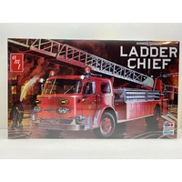 AMT 1204 American LaFrance Ladder Chief Fire Truck Plastic Model Kit