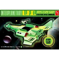 AMT 1/500 Interplanetary UFO Mystery Ship Glow in the Dark AMT622