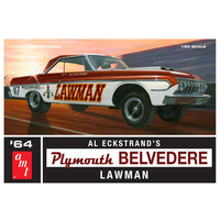 AMT 1/25 1964 Plymouth Belvedere Lawman