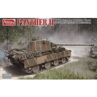 Amusing Hobby 35A040 1/35 PANTHER II the turret designed by Rheinmetall Plastic Model Kit