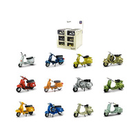 New Ray 1/32 Vespa Historical Bike 12 Asst 06047A Diecast