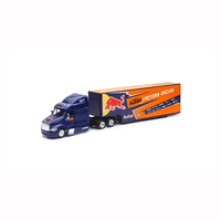 New Ray 1/43 Red Bull KTM Factory Team 2017 Peterbilt 387 Truck 15973 Diecast