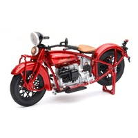 New Ray 1/12 1930 Indian Four (Burgendy) Diecast Bike