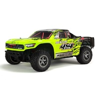 Arrma Senton BLX 4WD Short Course Truck RTR, Green and Black