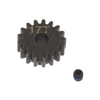 Arrma Steel Pinion Gear 17T Mod1 5mm, AR310478