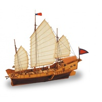 Artesania 1/60 Red Dragon Chinese Junk ART-18020