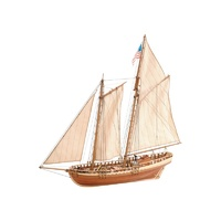 Artesania 22135 1/41 Virginia Schooner Wooden Ship Model