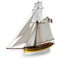 Artesania 22401 1/50 Le Renard French Cutter Wooden Ship Model