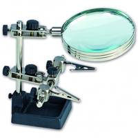 Artesania 27022 Third Hand w/Magnifying Glass For Electronics Modelling Tool