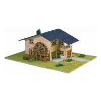 Artesania 1/72 Chalet with Water Wheel And Swing