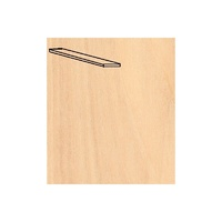 Artesania Basswood Wood Strip 10 x 70 x 1000mm 1pkt