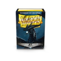 Sleeves - Dragon Shield - Box 100 - Jet MATTE