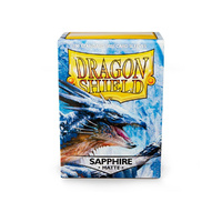 Sleeves - Dragon Shield - Box 100 - Sapphire Matte