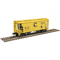 Atlas N Gauge PS-2 Covered Hopper B&O #631247