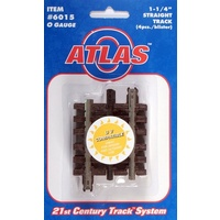 "Atlas O 3-Rail 1 1/4"" Straight Track"