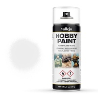 Vallejo Aerosol White Primer 400ml Hobby Spray Paint