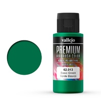 Vallejo Premium Colour Basic Green 60 ml Acrylic Airbrush Paint